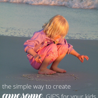 Learn how to create awesome GIF images of your kids the easy way!