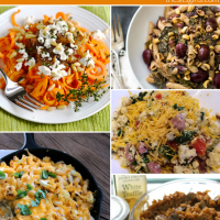 If you need some new healthy dinner recipes, you've come to the right place! We've collected five of our favorite's from last week's DIY link up. From gluten free and vegetarian to a remix of a classic comfort food, there is something here that everyone in your family will love.