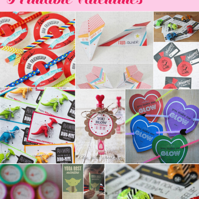 10 Food-Free Printable Valentines