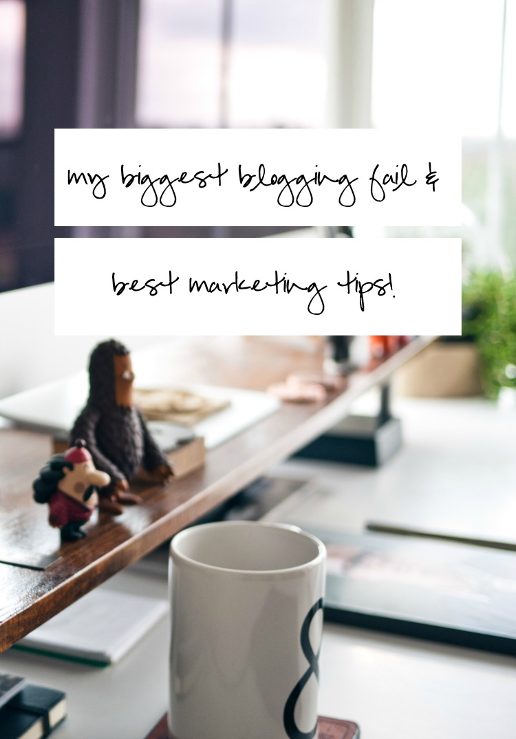 Learn from my failure as I share my best marketing tips to promote your blog.