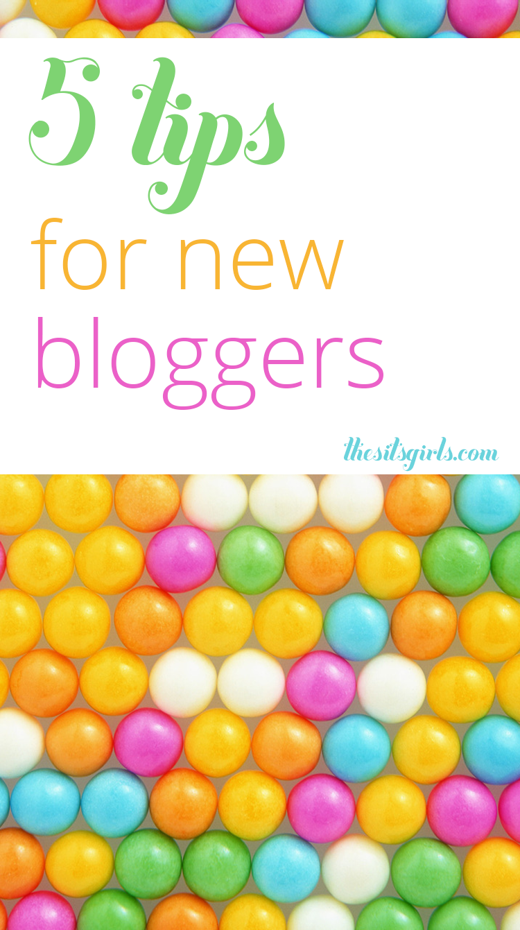 "Started a blog and wondering ""Now what?"" You aren't alone! Our 5 tips for new bloggers will help you answer that question and get you headed in the right direction."