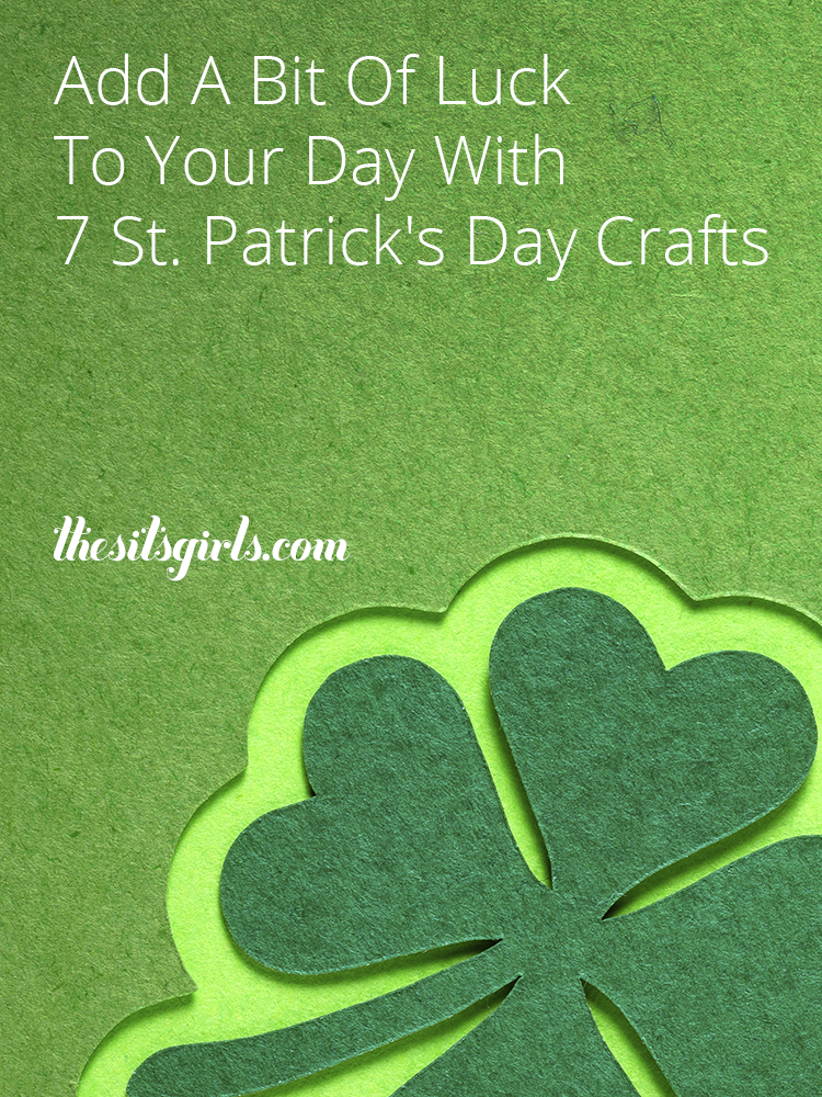 7 St. Patrick's Day crafts to add a bit of luck to your world. From bracelets and shirts to edible gifts and kid crafts, find your four leaf clover and rainbow craft inspiration here.