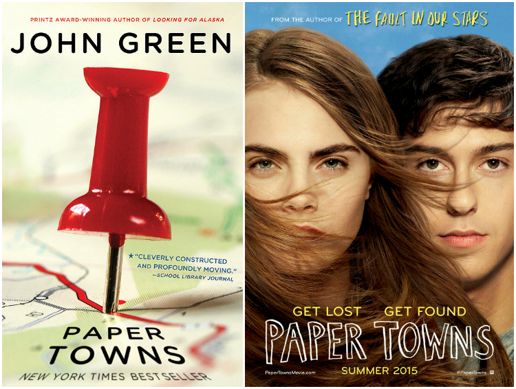 Paper Towns movie release July 24, 2015