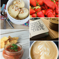 Inspiration and recipes from our weekly blog link up.
