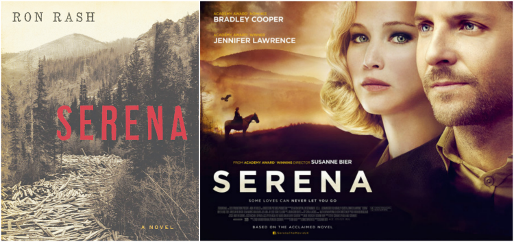 Serena, starring Bradley Cooper and Jennifer Lawrence, goes straight to video in the US.