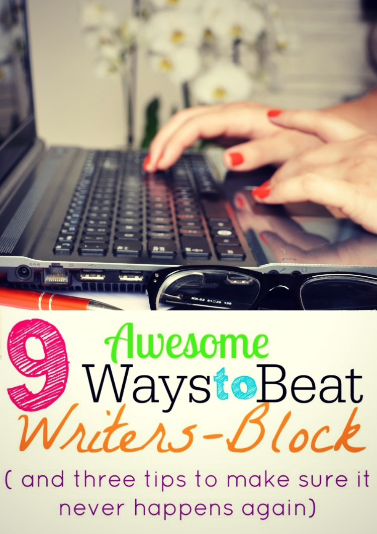 Beat writers block and make sure it never comes back again!
