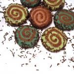 Almond Chocolate Pinwheel Cookies