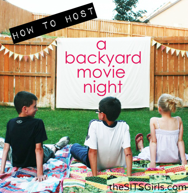 Everything you need to host the perfect Backyard Movie Night!