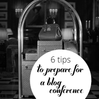 Get prepared for your next (or first!) conference with these six blog conference tips.