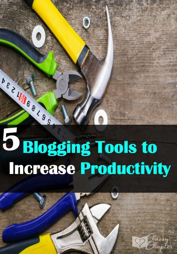 Five blogging tools that will help you to save time and increase productivity.