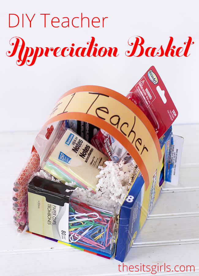 Diy teacher appreciation gifts or easter baskets or maybe you want to learn to make this teacher appreciation basket teacher appreciation gifts negle Choice Image