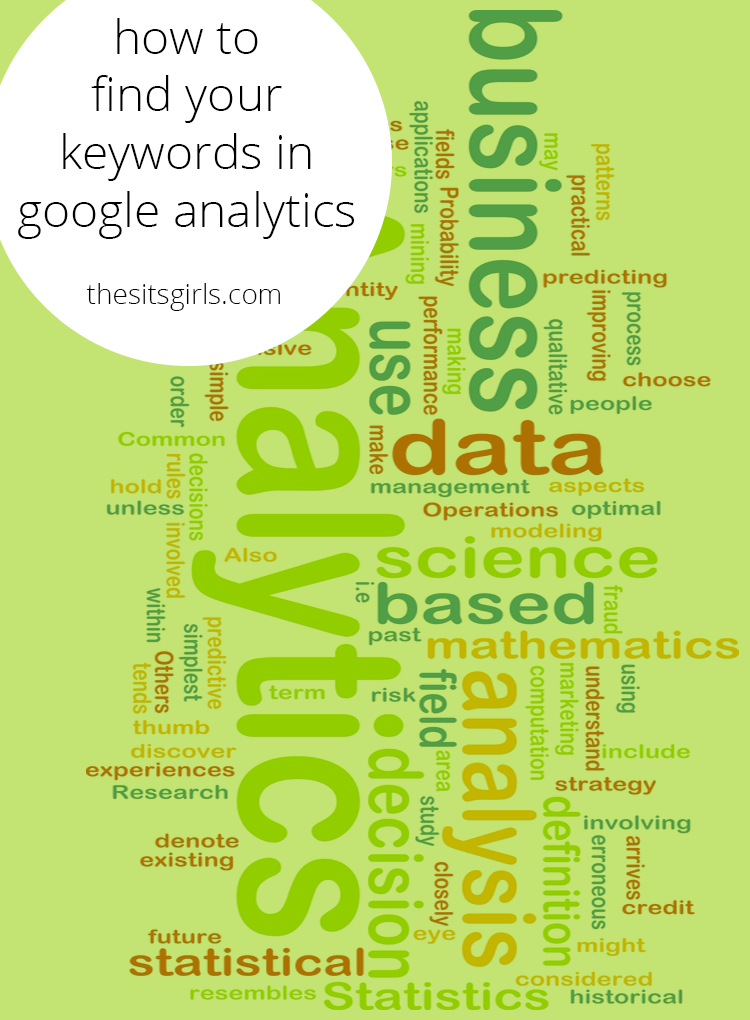 Learn how to find the keywords that are brining people to your blog | SEO