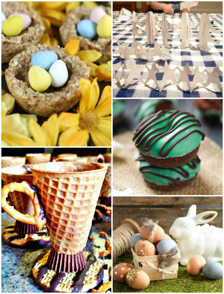 Great craft and recipe ideas we love from our DIY linky. Those sugar cone tea cups are the best!