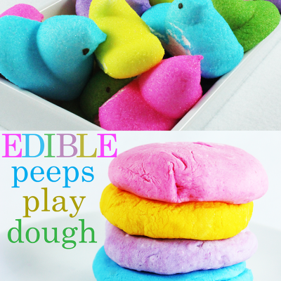 Edible Playdough Recipe With Peeps