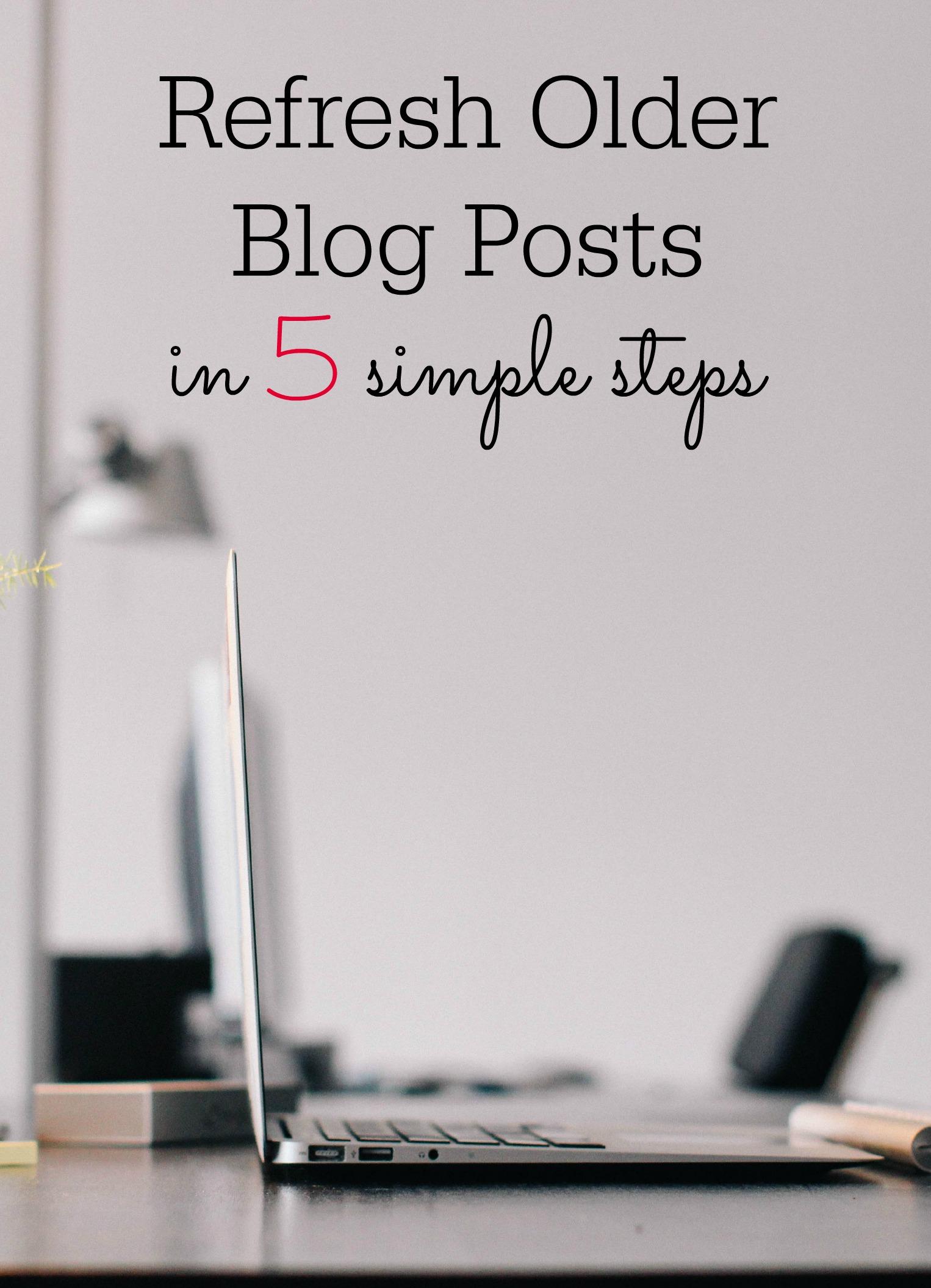 refresh old blog posts