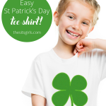 Easy St. Patrick's Day T-Shirt DIY