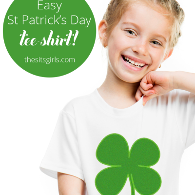 Easy St. Patrick's Day T-Shirt DIY