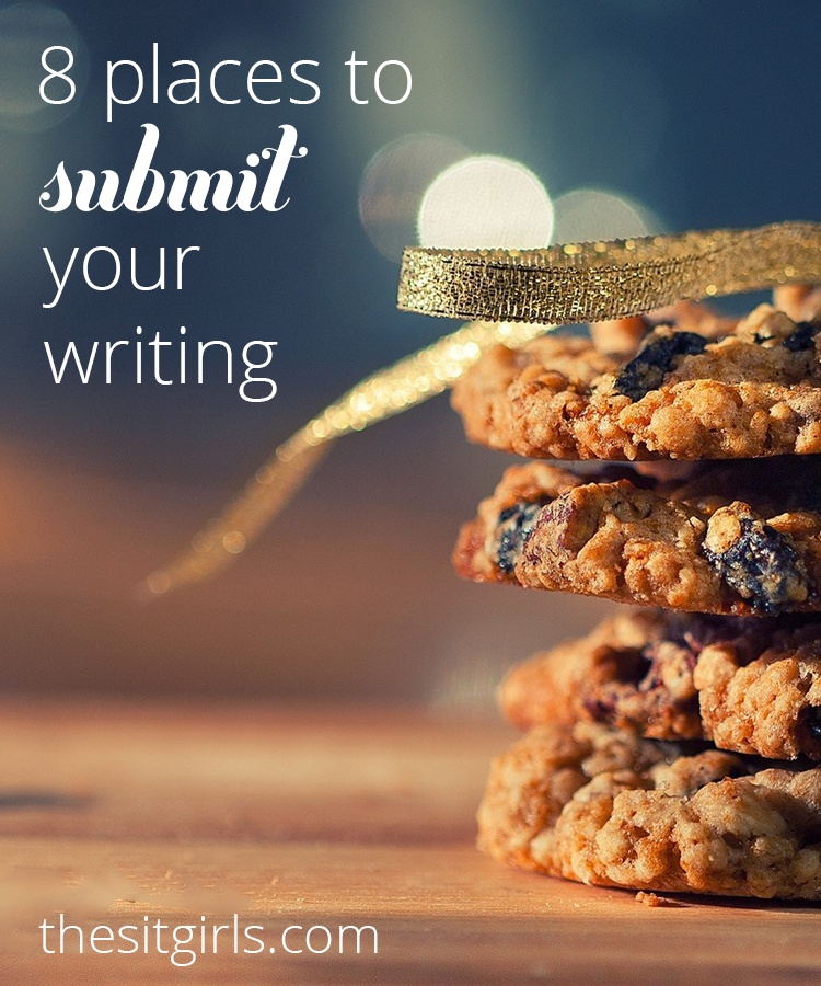 Great list of places to submit your writing and get more exposure for your blog.