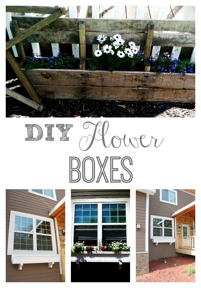 Diy Window Flower Boxes For Spring