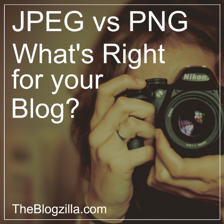 Do you know what kind of picture file you need to use when you upload photos to your blog? Learn everything you need to know about jpeg and png files so you can make the right choice.