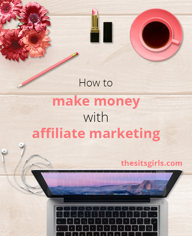 Tips to help you make money blogging with affiliate marketing. Learn how to bring in extra money each month using affiliate links. | Passive Income