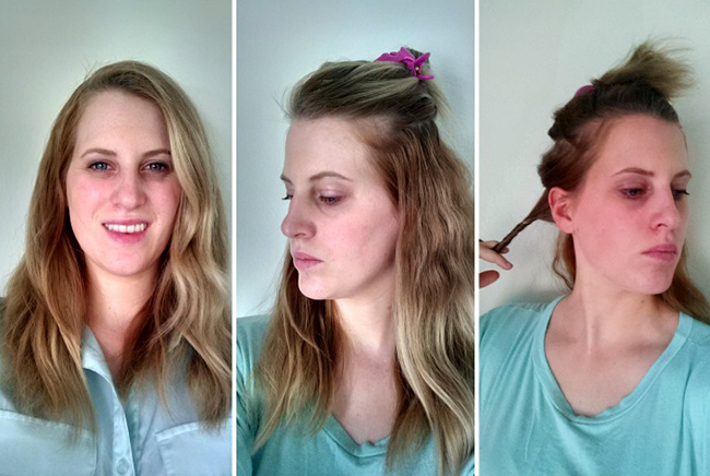 Don't fret your flat hair - with this tutorial you can have fun, beachy curls fast!
