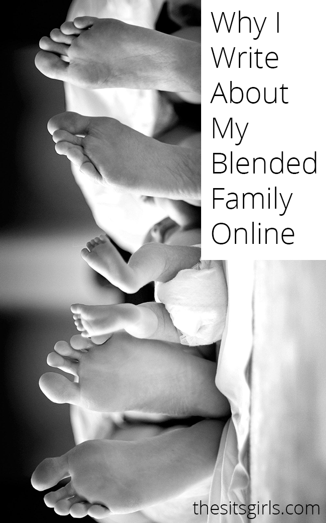 Many people live in blended families, but they aren't often represented well in media or online. This bloggers shares how her family works, and why she writes about her blended family.
