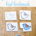 DIY Little Bird Bookmark
