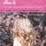 How to get the perfect beautiful beach curls. Step by step tutorial to help you master your curling iron and get a fun, beachy look for your hair this summer. | beach waves
