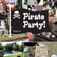 """A pirate party is great for boys and girls birthday parties. This is the ultimate guide to pirate party ideas. You'll be saying """"Arrr!"""" just reading it."""