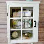 Target Inspired Window Cabinet