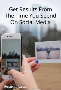 Learn how to use the time you are spending online to your advantage with these tips and get results on social media | Blogging Tips | Social Media Strategy