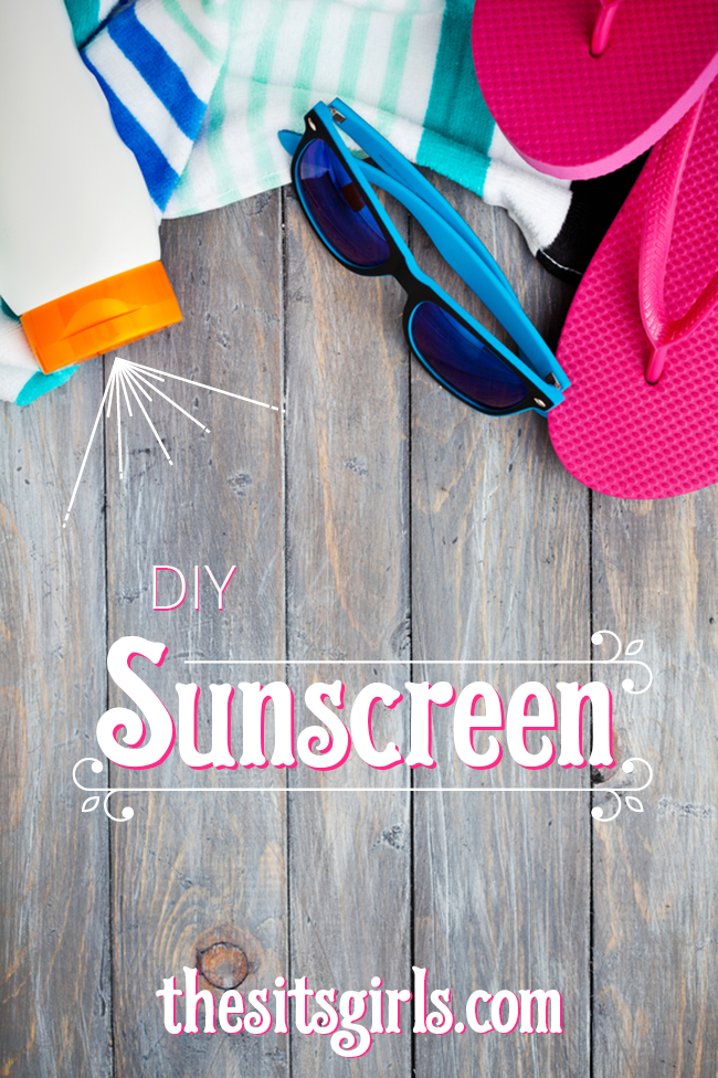 Homemade sunscreen you can really make yourself!  This easy DIY sunscreen will help you save money, and it is good for your skin, too. Now you can be prepared for summer fun!