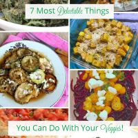 7 fun vegetable recipes that will wake up your taste buds and turn a boring dinner into an event!