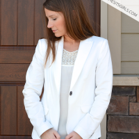 What is our one must have spring fashion item? The White Jacket.