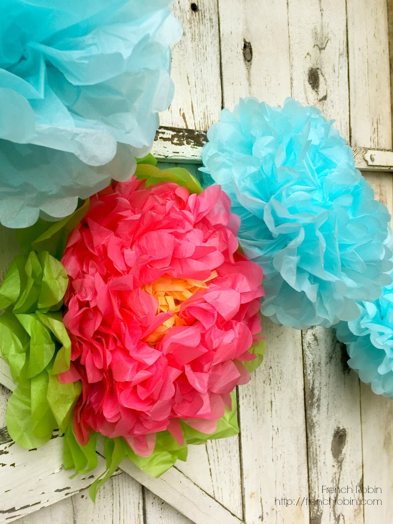 10 diy photo backdrops photo booth ideas large tissue paper flowers provide fun texture and color in a photo backdrop mightylinksfo