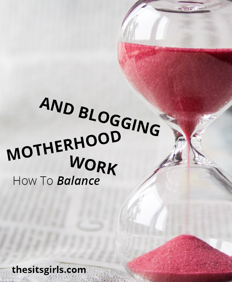 Hint: perfect balance isn't possible, but when you let go of perfection, you can find a system that works for you! | Blogging Tips | Working Mom Tips