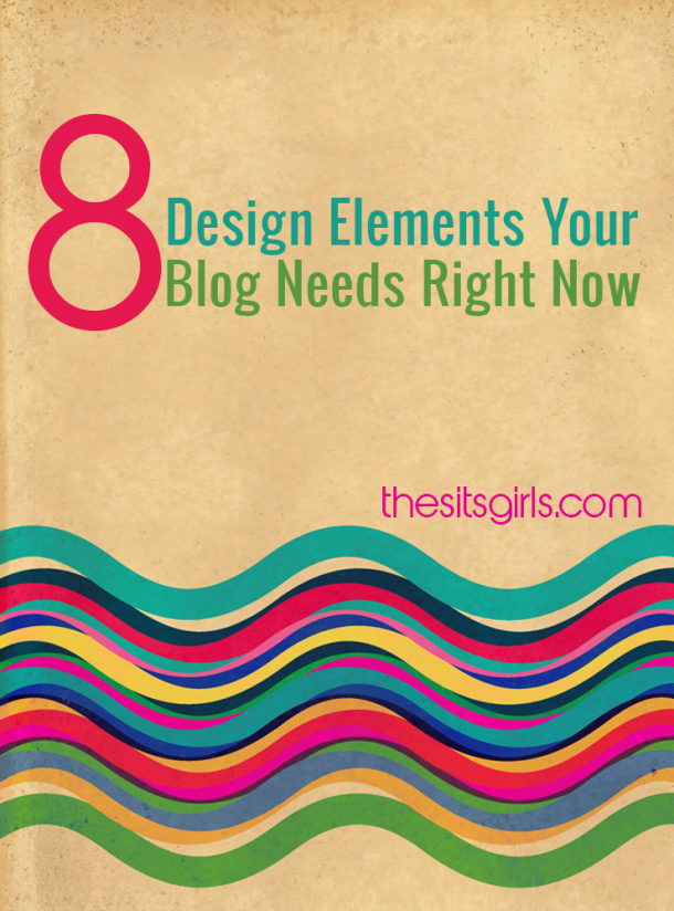 Your blog design is the first impression you make on new visitors. Check out this list of 8 design elements your blog needs to have right now, and see if you are missing something important.   Blog Tips