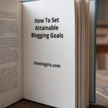 Are you ready to see your blog grow? Then it is time to start setting blogging goals that are real and attainable. Goal setting is a still that we all need to develop. These tips will help you get started - especially tip #2