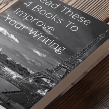 We've collected the four best books to read about writing. If you want writing tips, and inspiration to become a better writer, you need this list! These books will help you write a book or blog posts and everything in between.