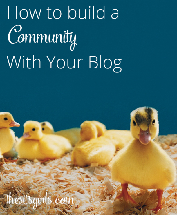 If you want your blog to be successful it can't just be a one-way conversation. You need to build a community. Use these great tips to get started. | Blogging Tips