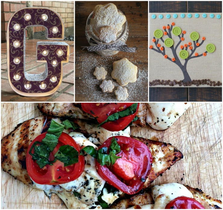Great crafts and recipes from the DIY link up at The SITS Girls.