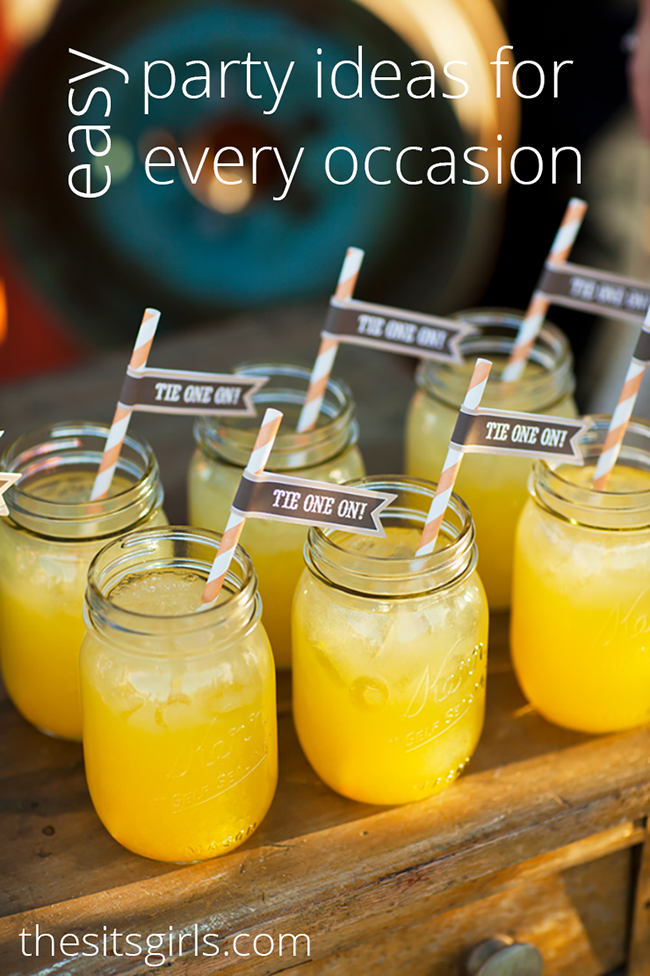 Superb Kids Cocktail Party Ideas Part - 11: Easy Party Ideas