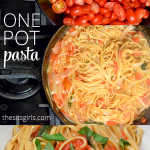 Have you tried one pot pasta? It is a brilliant idea for busy weeknight - the whole dinner is ready in less than 15 minutes.