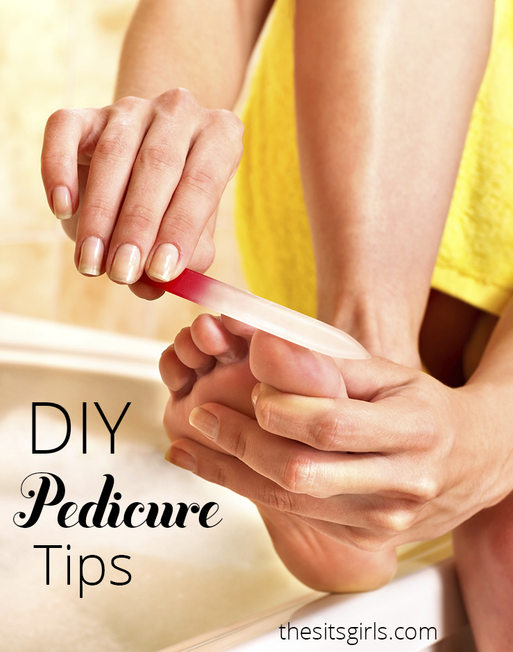 Treat yourself to a relaxing pedicure with these at home beauty pedicure tips   DIY Beauty