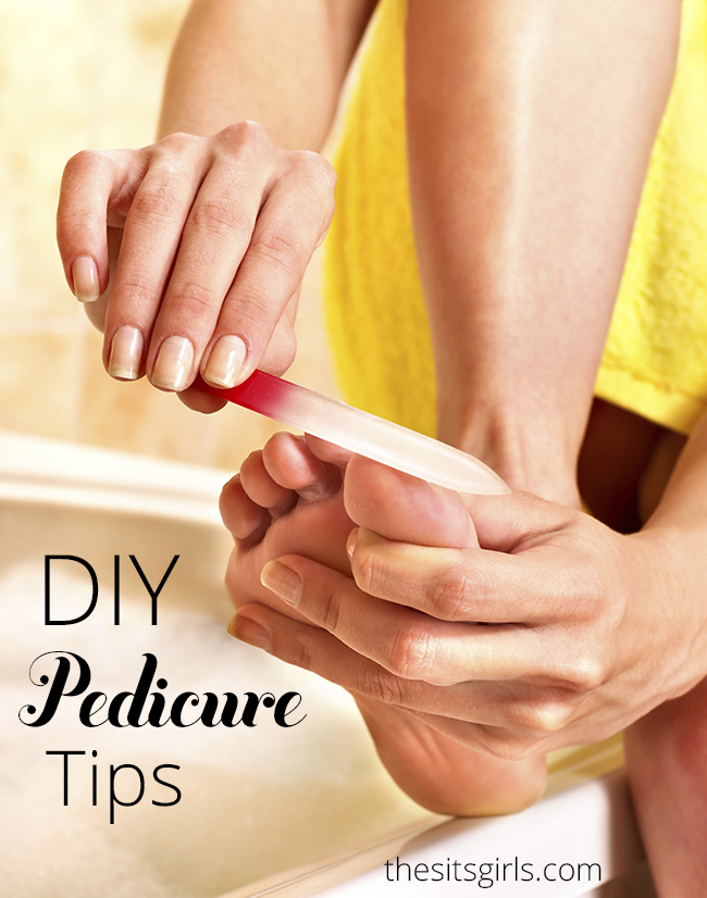 Treat yourself to a relaxing pedicure with these at home beauty pedicure tips | DIY Beauty