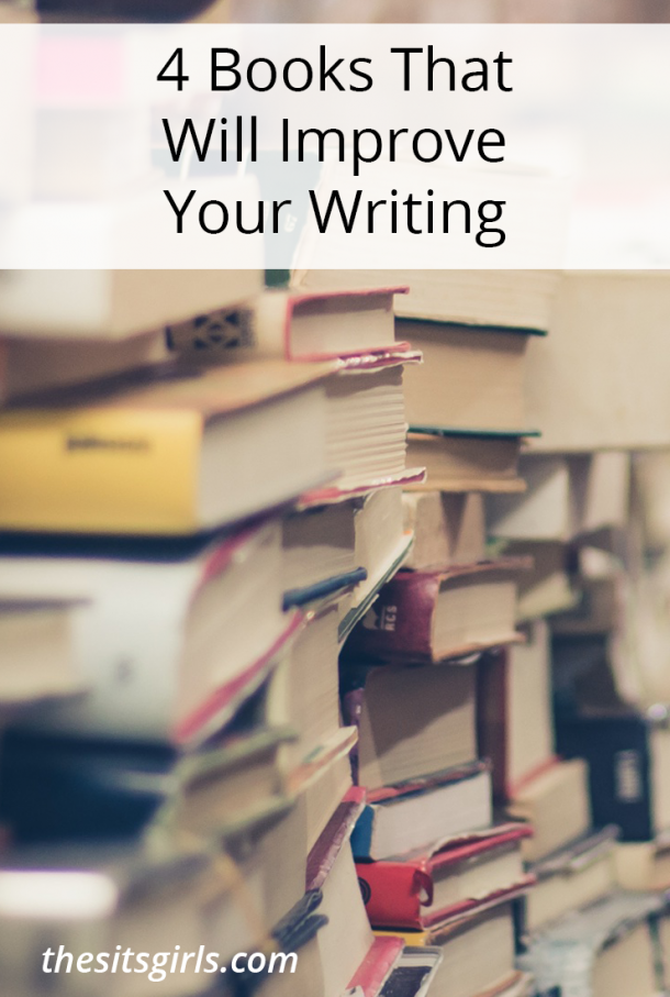 We've collected the four best books to read about writing. If you want writing tips, and inspiration to become a better writer, you need this list! These books will help you write blog posts or a book and everything in between.