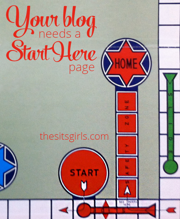 """Your blog needs a """"Start Here Page."""" Find out why and what to include in your start here page in this post. 