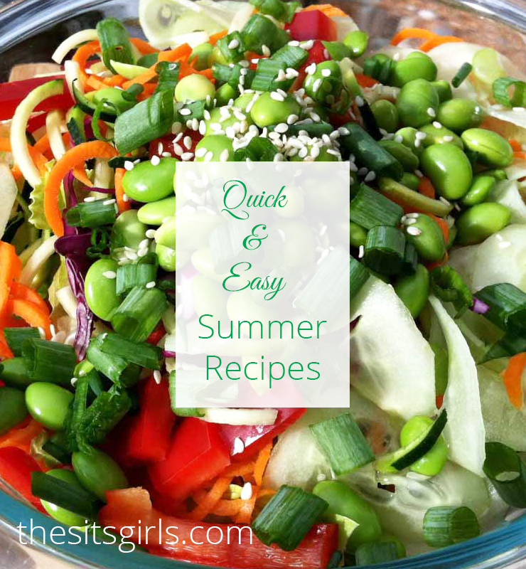 Our ultimate collection of quick and easy summer recipes. You can have great food this summer without spending hours standing over a hot stove. These quick and easy recipes are perfect for hot summer days.