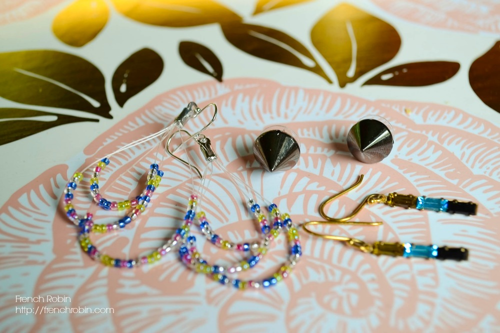 Learn how to make these three pairs of earrings the easy way! | DIY Jewelry | DIY Fashion